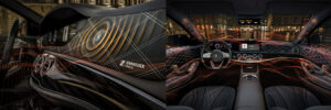 Speakerless car audio system Continental and Sennheiser - Car-atalog.com